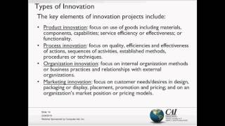 The Project Management Approach for Achieving Positive Innovation Outcomes