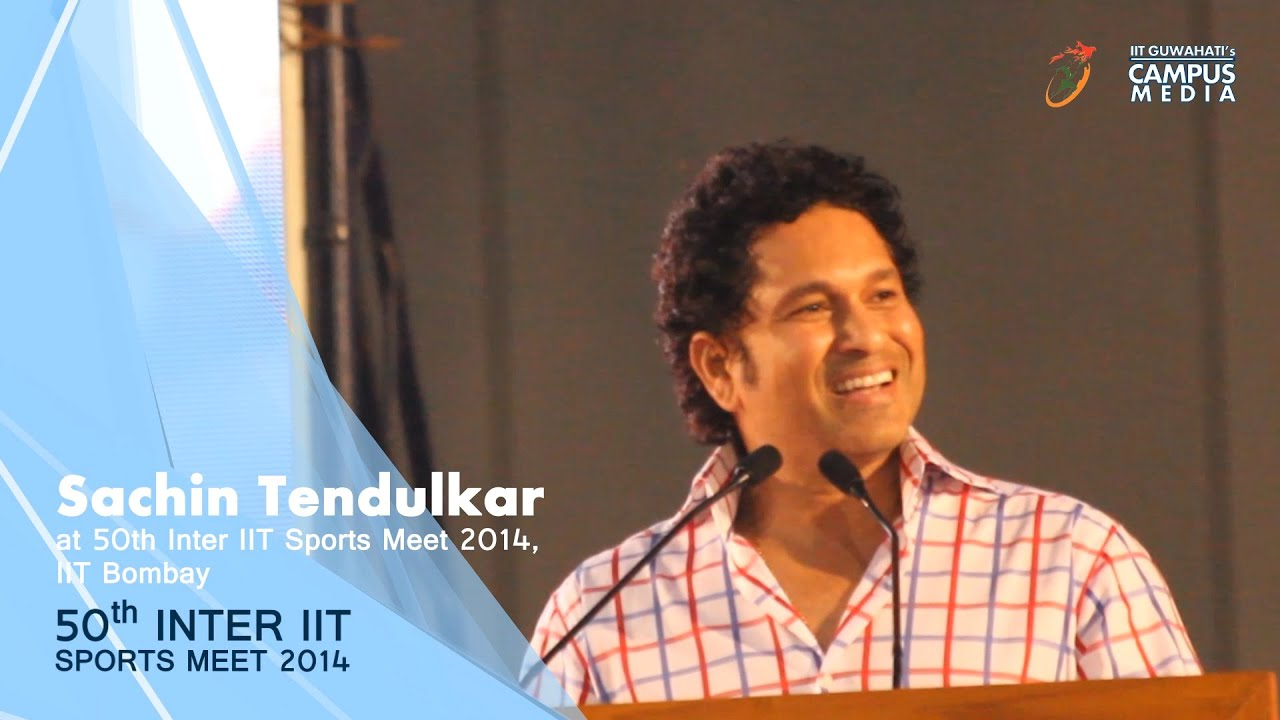 sachin tendulkar speech 3 The ramayana has lord rama, the mahabharata has lord krishna and cricket has the little master sachin tendulkar well, it is rightly said that if cricket were a.