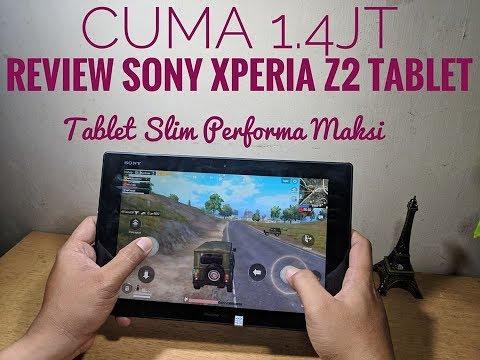 Seperti Apa Rasanya Main PUPG Dengan Tablet 10ic Slim? #Review Sony Xperia Z2 Tablet