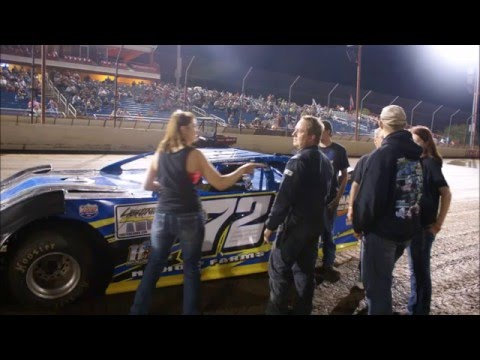 Jake Williams memorial video Lucas Oil Speedway