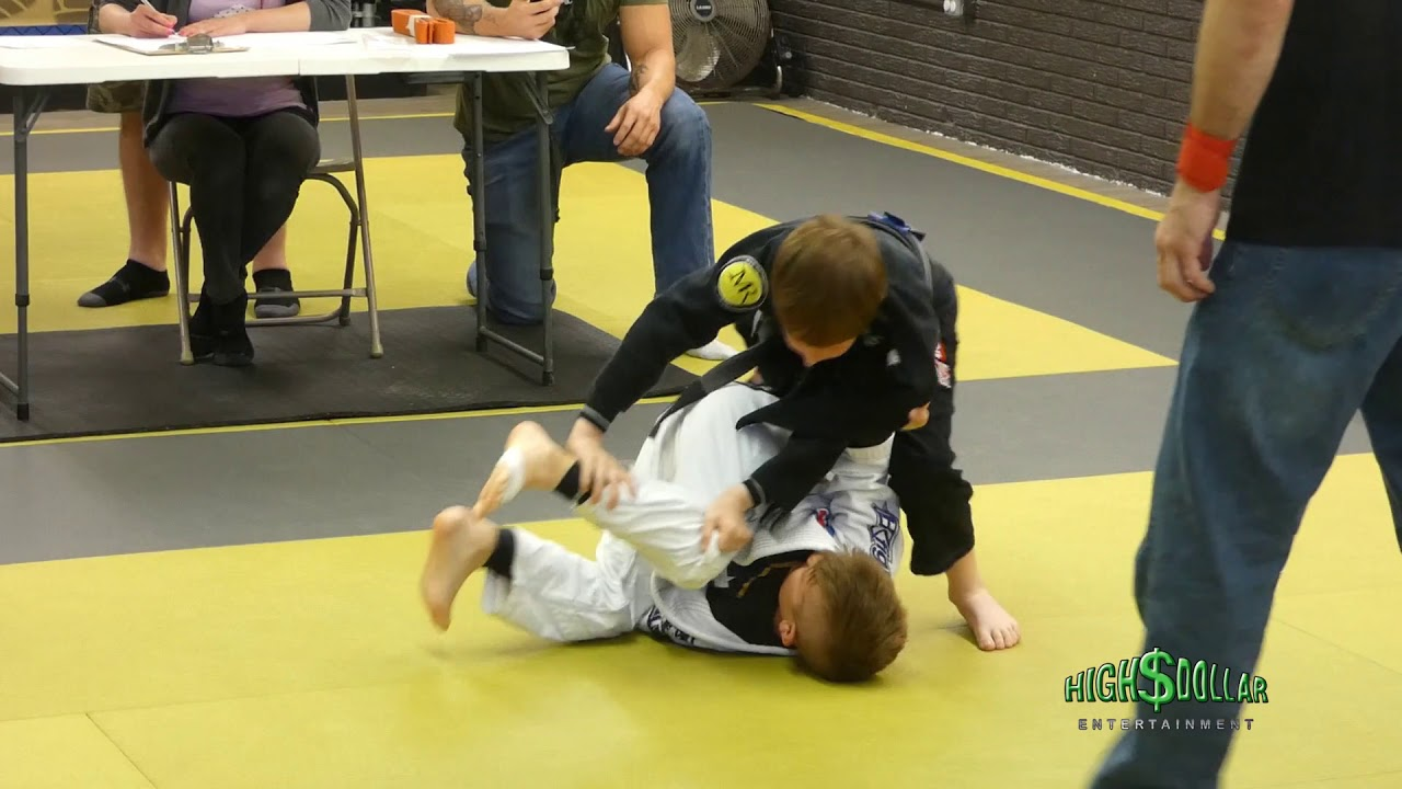 9 Year Old State Champion Shows Off BJJ skills [VIDEO]