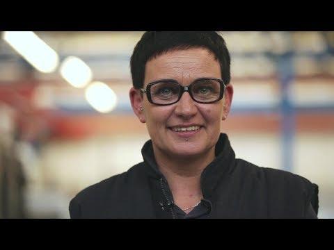 Christine, Coordinate measuring machine operator