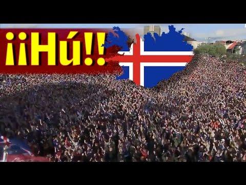 Piel de gallina: Islandia recibió a su Selección como verdaderos héroes