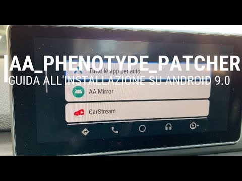 AA-Phenotype-Patcher, Guida All'installazione Su Android 9.0 (root)