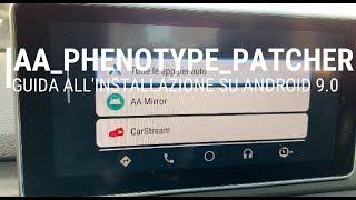 AA-Phenotype-Patcher, Guida All'installazione Su Android 9.0 (root)