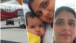 My daughters first Travel Experience #rozivlogs