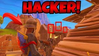 HACKER in Fortnite gefunden! | (Aimbot & Wallhack) | Fortnite Battle Royale