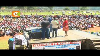 Thousands attend prayers for 7 Kalenjin artists in Kericho County