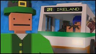 EXPLORING IRELAND! (Unturned Survival)