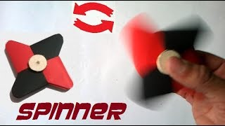 Hacer un Origami Fidget Spinner - Facil. DIY Fidget Spinner de Papel sin Rodamientos sin baleros