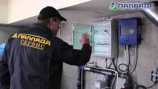 видео обслуживание бассейнов в Черногории