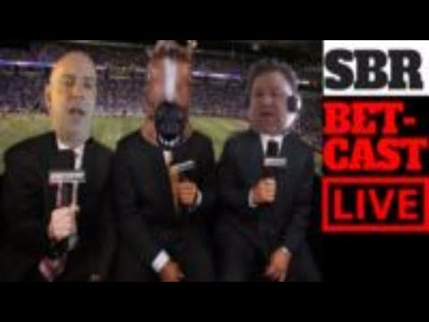 LIVE In-Game Betting | NFL Sunday Night Football Cowboys-Eagles Bet Cast