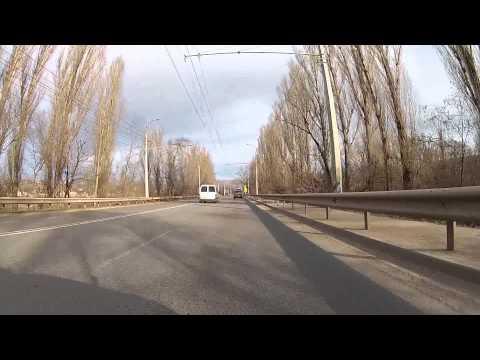 DRIVING CAR IN CRIMEA FROM SIMFEROPOL TO ALUSHTA