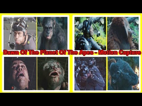 Motion Capture  Dawn of The Planet of The Apes