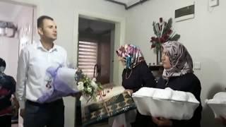 Nişanda erkek  annesinden kız evine  gelen çeyiz