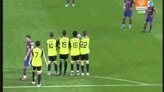 Zlatan Ibrahimovic اروع هدف فاول ابراهيموفيتش Barcelona
