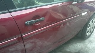 Замена двери или ремонт PDR?