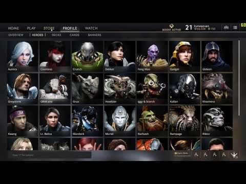 Paragon - all HEROES and SKINS [Utra settings]