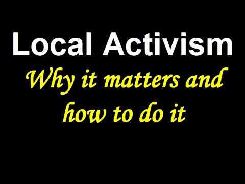 4 tips for local activism