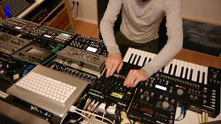 Rufes Live - Colorful Mood # Atmospheric Deep Techno Liveset with Elektron machines