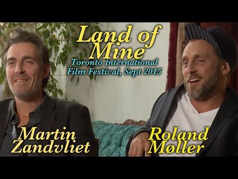 DP30 @ TIFF '15: Land of Mine, Martin Zandvliet & Roland Møller