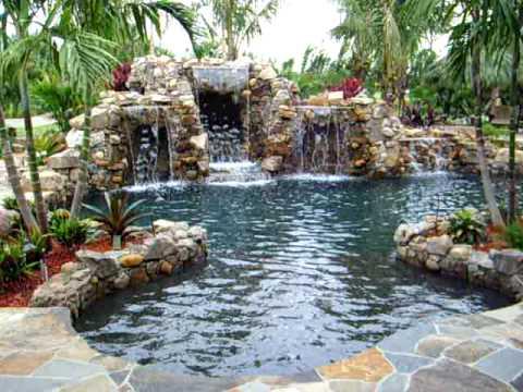 Back Yard Paradise By Florida Falls Com Youtube