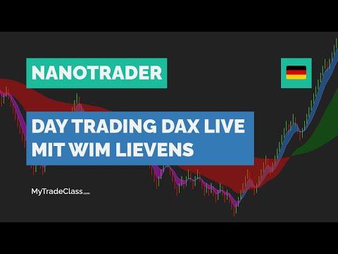 Day Trading DAX Live (mit Wim Lievens)
