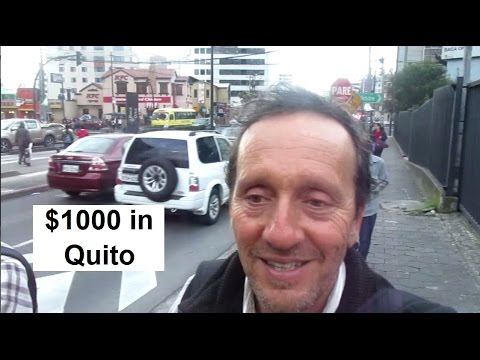 Live on $1000 in Quito Ecuador {Foch Plaza VLOG}