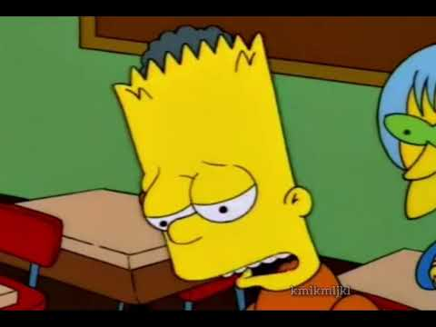 say another line, Bart