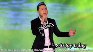 Nghèo Mà Có Tình | Hàn Thái Tú | Karaoke | Beat Gốc