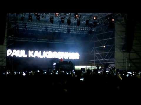 Paul Kalkbrenner @ Pescara 12.08.2013 (Schnurbi + Dockyard)