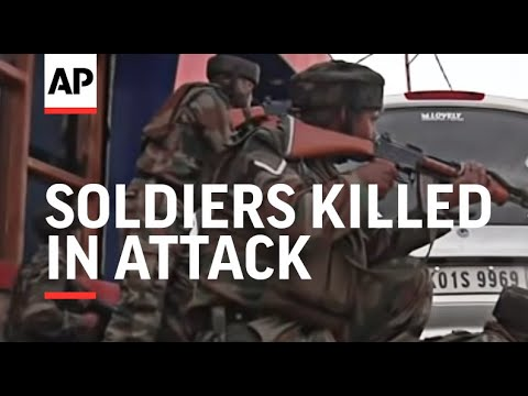 Soldiers killed in attack on army convoy day before PM's visit