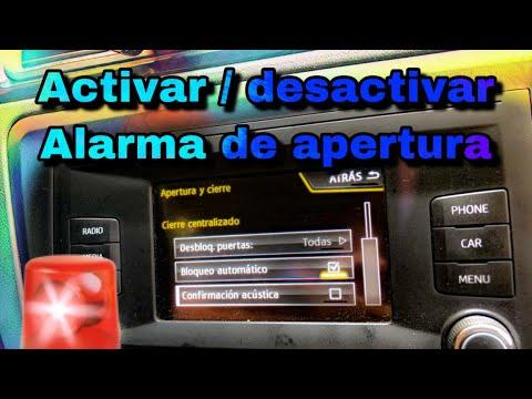 Como ACTIVAR O DESACTIVAR El PIDIDO DE ALARMA En Seat Toledo? (Tutorial De Vag Com) | Joseph Ponce