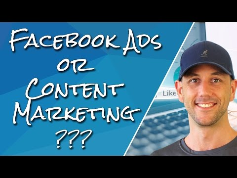 Facebook Advertising Vs. Building An Authority Site - Which Is Best For You?  & Live Q&A