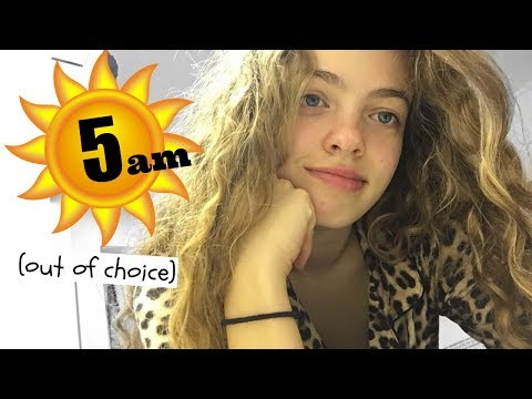 How to Wake Up at 5am (& not be tired!) as a Teenager ⏰