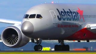 12 HEAVY Aircraft Afternoon Takeoffs   A350 787 747   Melbourne Airport Plane Spotting