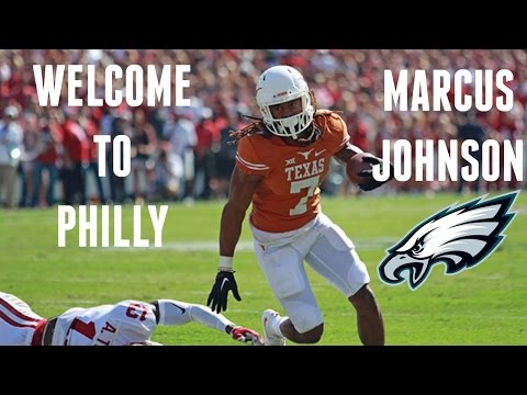 Welcome To Philly || Marcus Johnson Texas Highlights ᴴᴰ