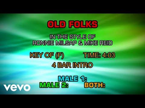 Ronnie Milsap - Old Folks (Karaoke)