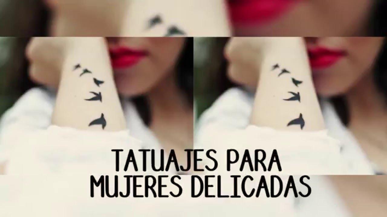 Tatuajes para mujeres delicadas youtube - Dibujos tribales para tatuar ...