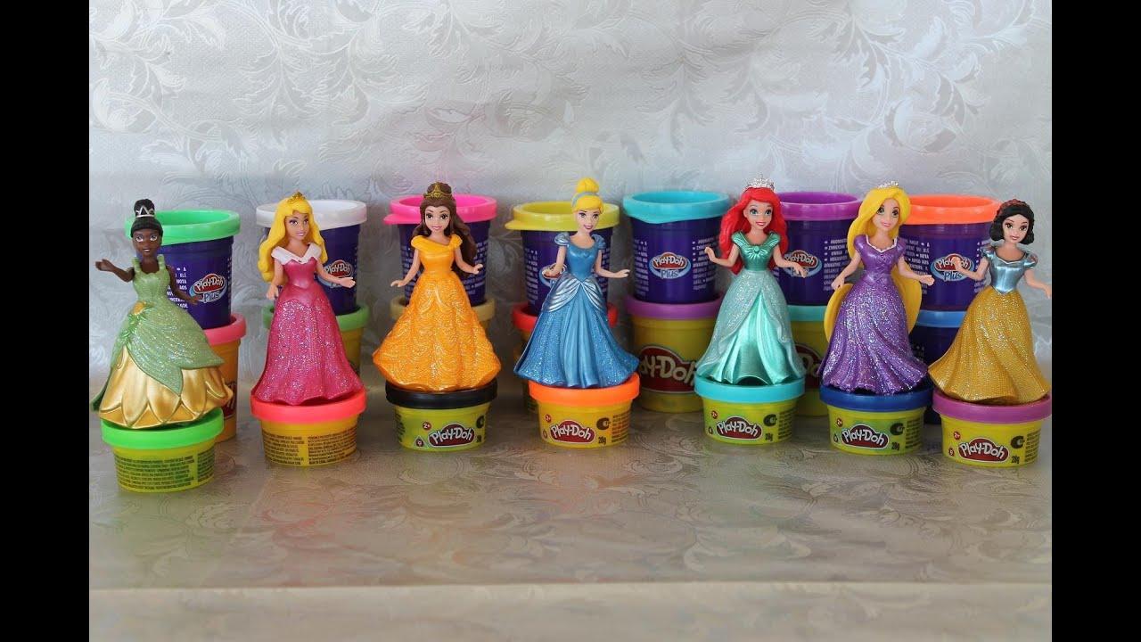 online store 3a887 ef52b Principesse disney Ariel Cenerentola Belle vestiti MagiClip creati playdoh,  princess disney toys
