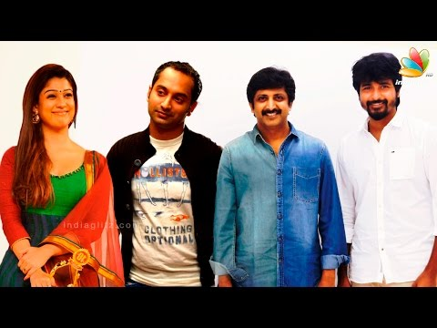 Fahad Faasil to act with Nayanthara in his Tamil debut | Hot Malayalam Cinema News