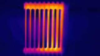 Тепловизор - Масляный радиатор(Данное видео было снято Тепловизором. На видео ясно виден процесс нагрева масляного радиатора. www.teplovidenie.blog...., 2012-02-11T16:03:11.000Z)