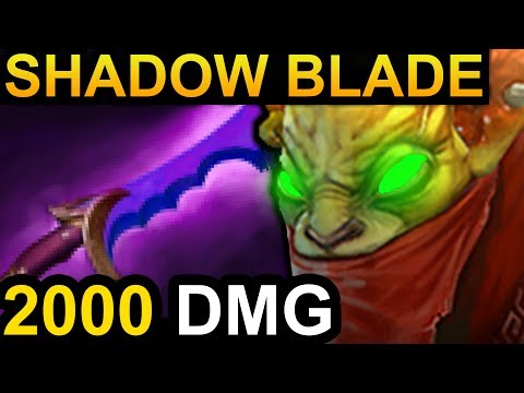 SHADOW BLADE BOUNTY HUNTER DOTA 2 PATCH 7.06 NEW META PRO GAMEPLAY