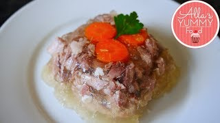 Russian Pork Holodec Recipe | Holodec | Xолодец