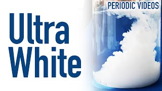 Ultrawhite Paint (with Barium Sulfate) - Periodic Table of Videos