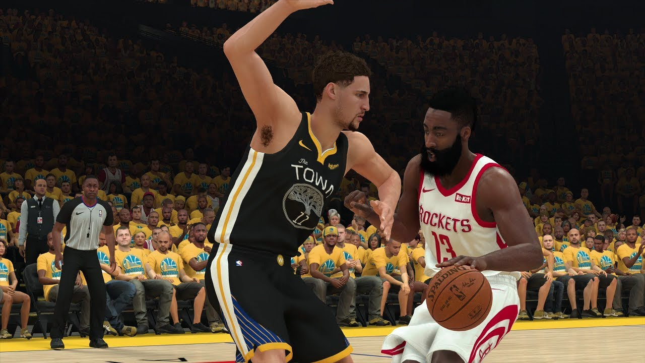 Golden State Warriors vs Houston Rockets – Game 2 Conference Semifinals Full Game NBA 2K19 4/30/19 - YouTube