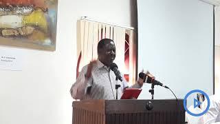Raila speaks about the reason behind handshake