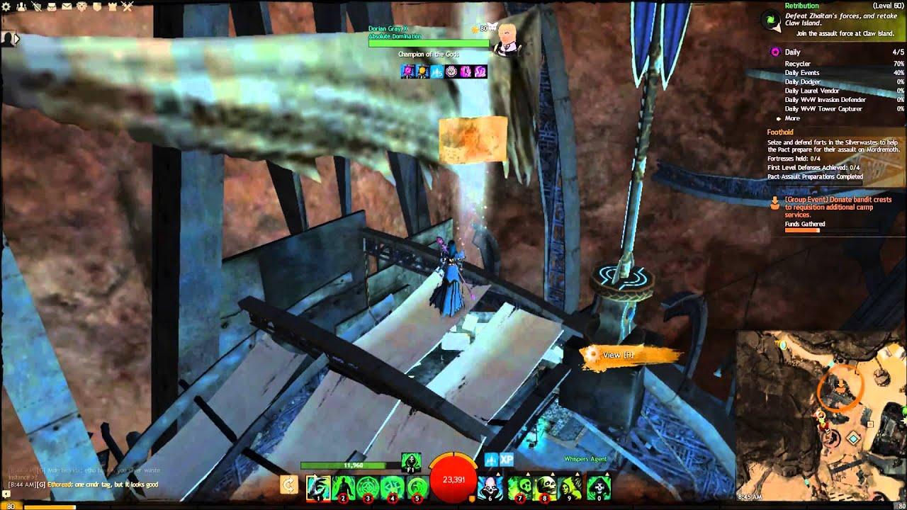 Guild wars 2 Camp Resolve Vista