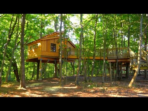This Treehouse is a Nature Kid's Dream Come True