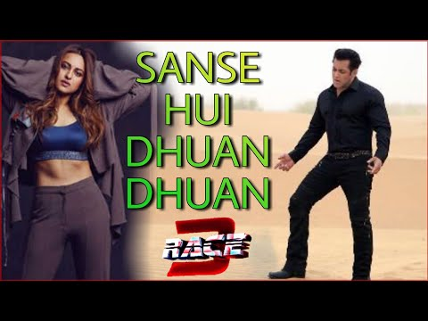 RACE 3 songs Sanse hui dhuan dhuan Sonakshi Sinha | Salman khan | Atif Aslam